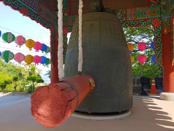 조선 영조시대에 주조된 여수팔경중 하나인 한산모종의 모습