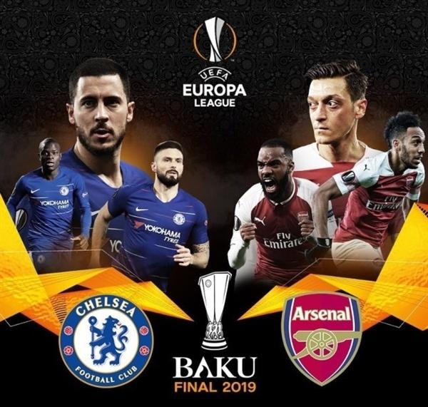 2018-19 UEFA 유로파리그 결승전에서 맞붙게 된 첼시와 아스날