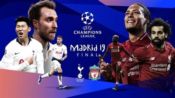 2018-19 UEFA 챔피언스리그 결승전에서 맞붙는 토트넘과 리버풀