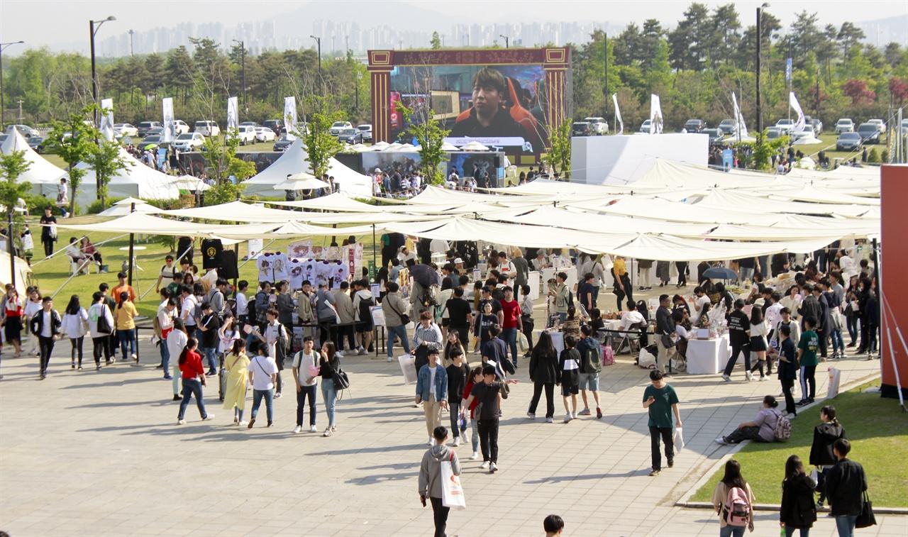 2만 여 명의 관람객이 찾으며 역대 최대 행사로 개최된 넥슨의 네코제.