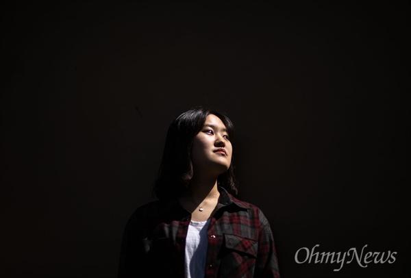 스쿨미투운동한 인천 신명여고 졸업생 박보현씨.