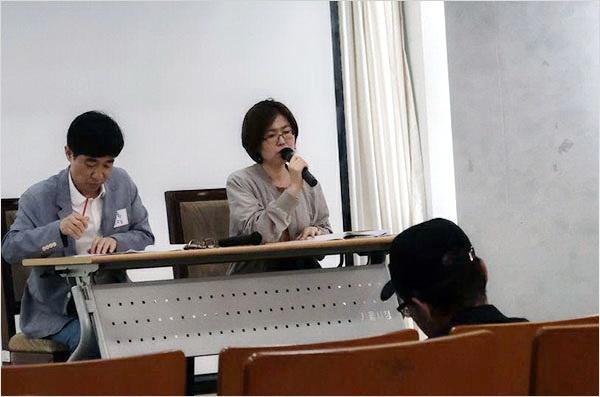 첫 발제자 고인환(경희대), 토론자 서영인(국민대) 교수