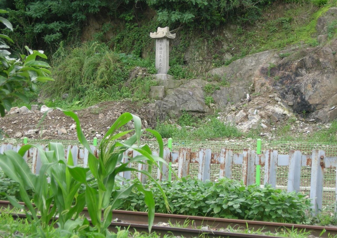 군산시 흥남동 팔마산 아래 주변(2011년 6월 촬영)
