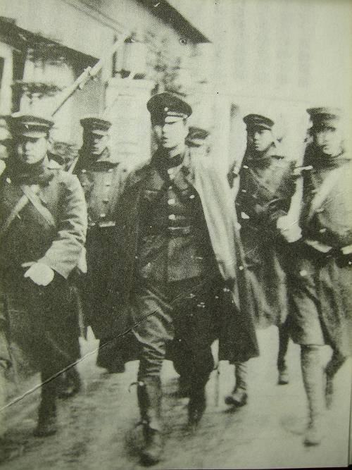 2.26 쿠데타 당시 반란군 모습.