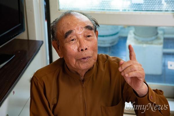 5.18민주화운동 당시 아들 김종철씨(당시 18세, 자개가구점 종업원)를 잃은 김영배씨.