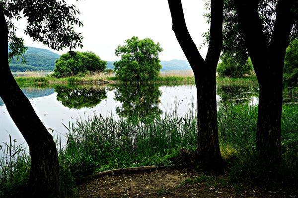 양수리 풍경