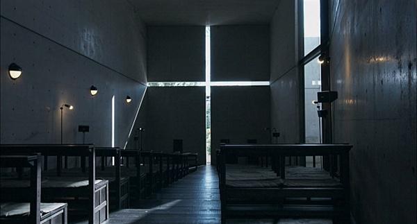 영화 <안도 타다오> 스틸컷. '빛의 교회'