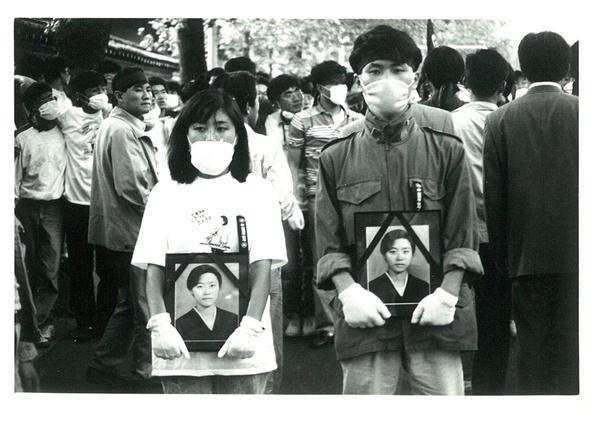 고 김귀정 열사를 기억하는 대학생들 1991년 봄은 젊음이들의 죽음으로 아팠다.