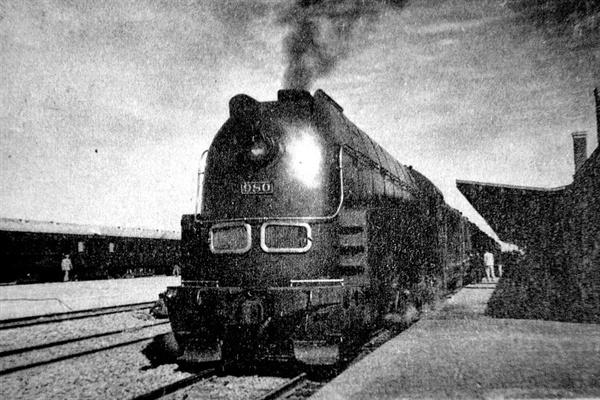 일본 만철의 상징, 특급 '아시아호' 일본이 만주침략을 위해 건설한 남만주 철도회사의 대표 열차