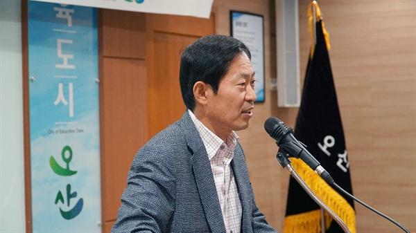 김문환 오산시 부시장