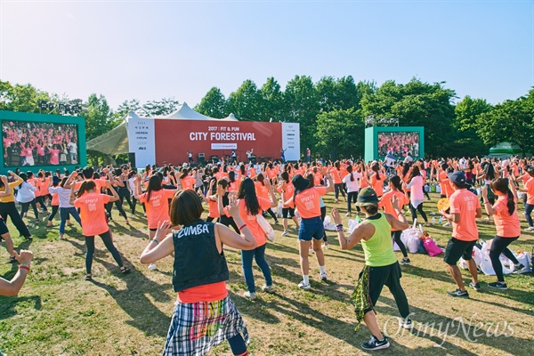 인천시와 인천관광공사는 국내 최초이자 최대 규모인 워크아웃 페스티벌 '시티 포레스티벌 2019'를 오는 6월 1일 영종 파라다이스시티에서 진행한다.