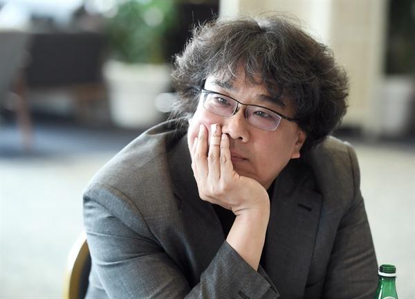 영화 <기생충>의 봉준호 감독.
