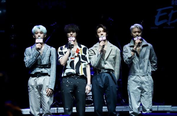 아이즈 밴드 아이즈가 새로운 싱글앨범 <리아이즈>를 발표하고 컴백했다.