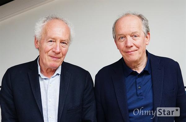 영화 <영 아메드>로 제72회 칸영화제 경쟁 부문에 초청된 다르덴 형제. 왼쪽부터 장-피에르 다르덴(Jean-Pierre Dardenne), 뤼크 다르덴(Luc Dardenne).