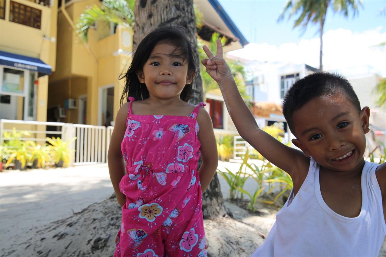필리핀 아이들