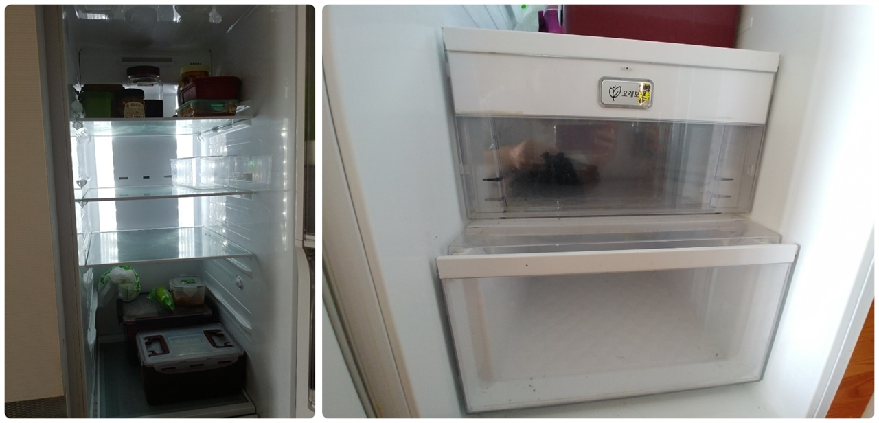 냉장고에 계란 한 알 없고 나야, 장을 보는 습관을 들였다.