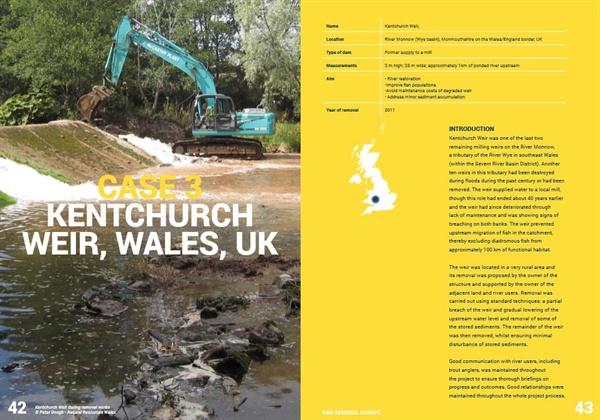 '유럽 댐 제거' 사이트에 게재된 '댐 제거, 우리 유럽 강의 미래를 위한 시행 가능한 해결책' 보고서