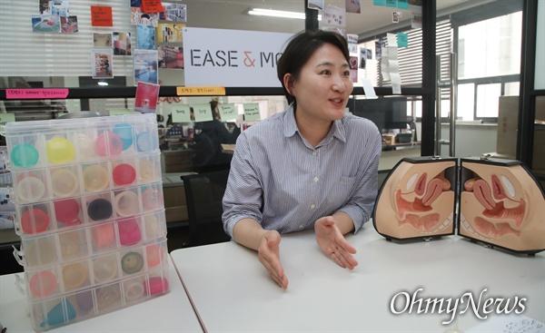 이지앤모어는 월경컵을 처음 접하는 사람들에게 정확한 정보를 제공하기 위해 매달 월경컵 수다회를 진행하고 있다.