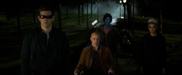 영화 < 엑스맨 : 다크 피닉스 >의 한 장면