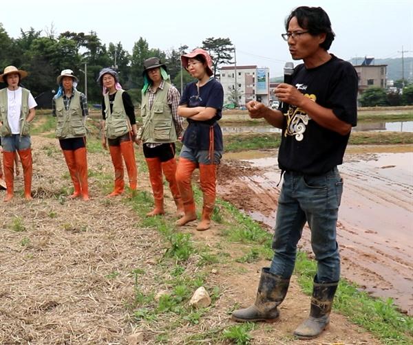 20년 동안 280여가지 토종 종자와 전통 농업방식을 지켜온 농부 '우보'.