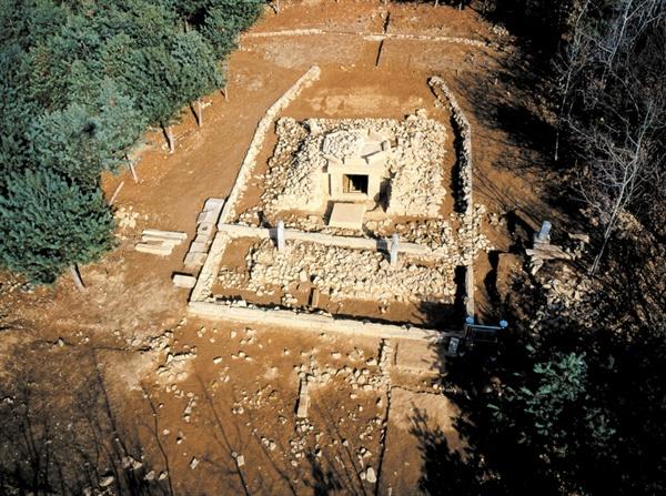 강화가릉 발굴 사진