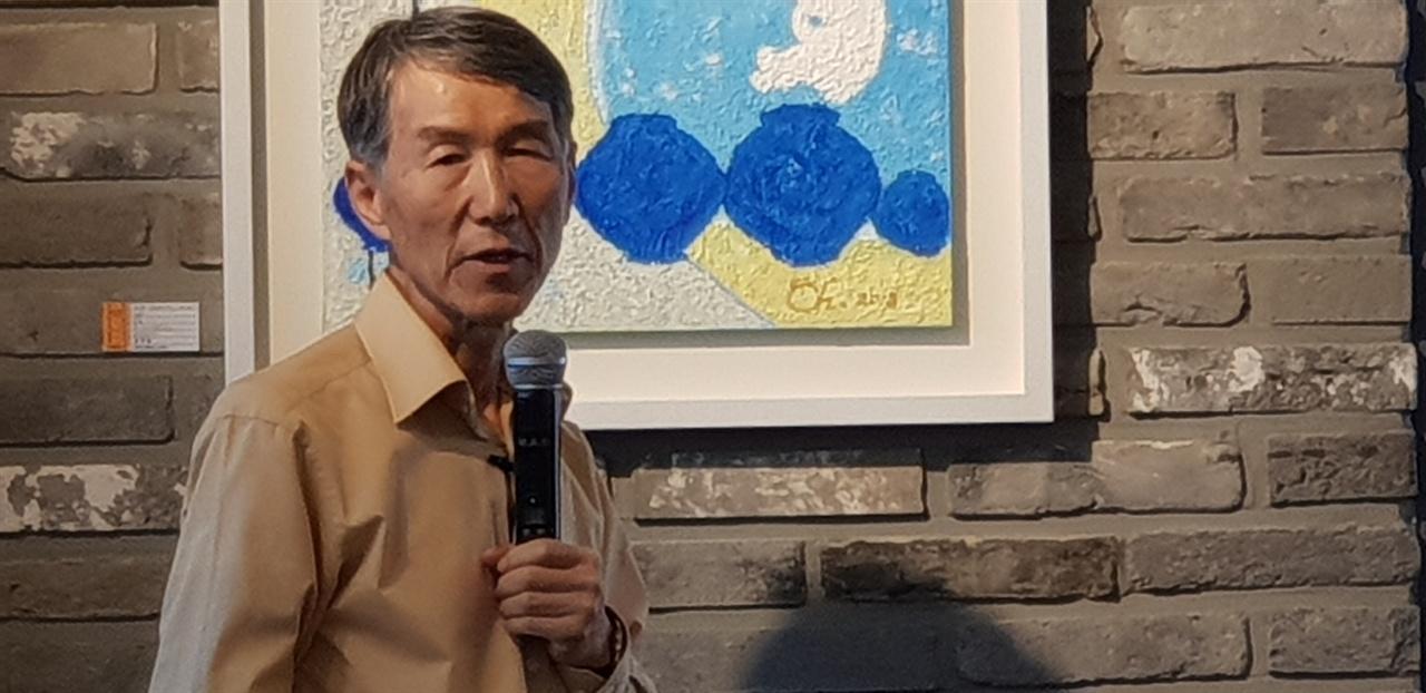 황성수 박사의 8일 강연 장면.