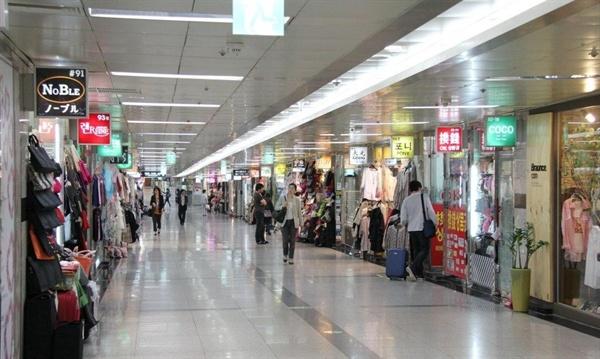 서울시 명동 지하상가