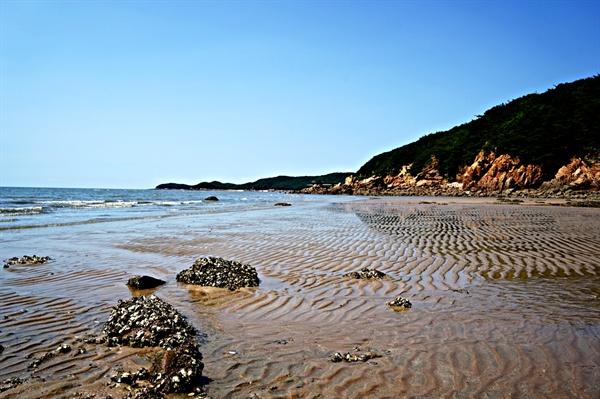 무의도 서쪽 해안 풍경