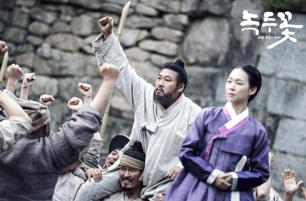 <녹두꽃>의 전봉준(최무성 분).