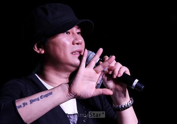 최근 퇴진을 발표한 양현석 YG 총괄 프로듀서