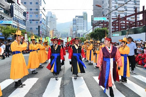 제57회 거제 옥포대첩 축제.