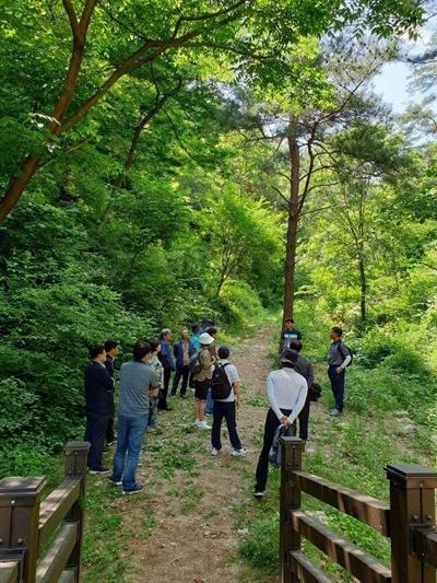 숲길 체험도 연수 프로그램