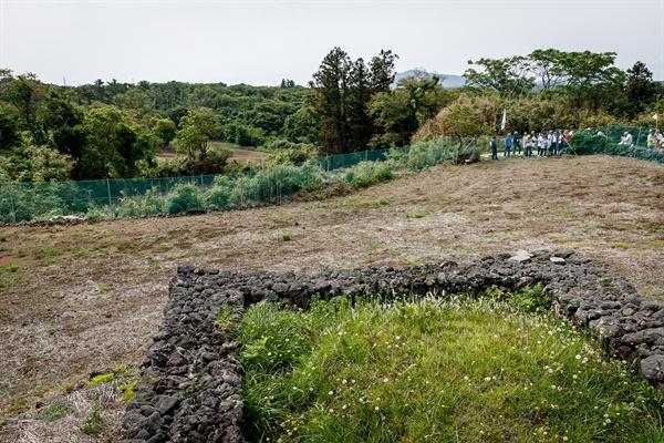 무등이왓 마을 잠복학살터.