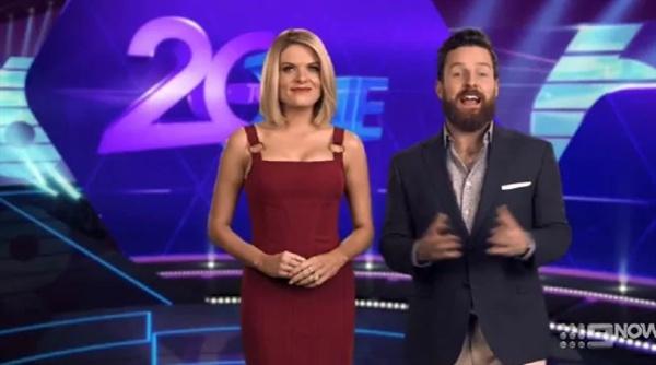 방탄소년단에 대한 차별 발언으로 논란이 된 호주 공영방송 프로그램 갈무리.