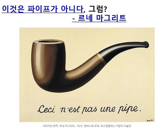 장 교수는 르네 마그리트의 작품을 통해 현상에 가려진 이면을 봐야 한다고 강조했다.