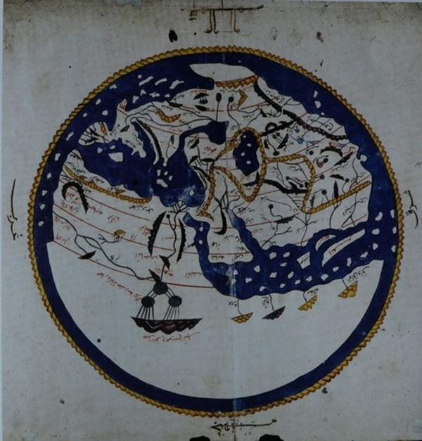 al-Idrisi 지도(12세기), 1553년 재현