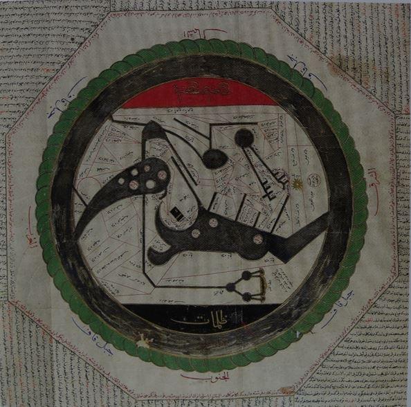 이슬람 지도 Arifi 등, 1569년