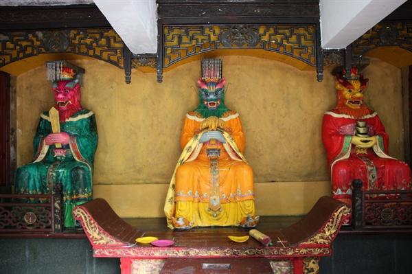 용왕묘의 세 용왕