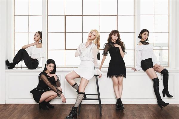 5인조 신인 걸그룹 'lusty' 사진
