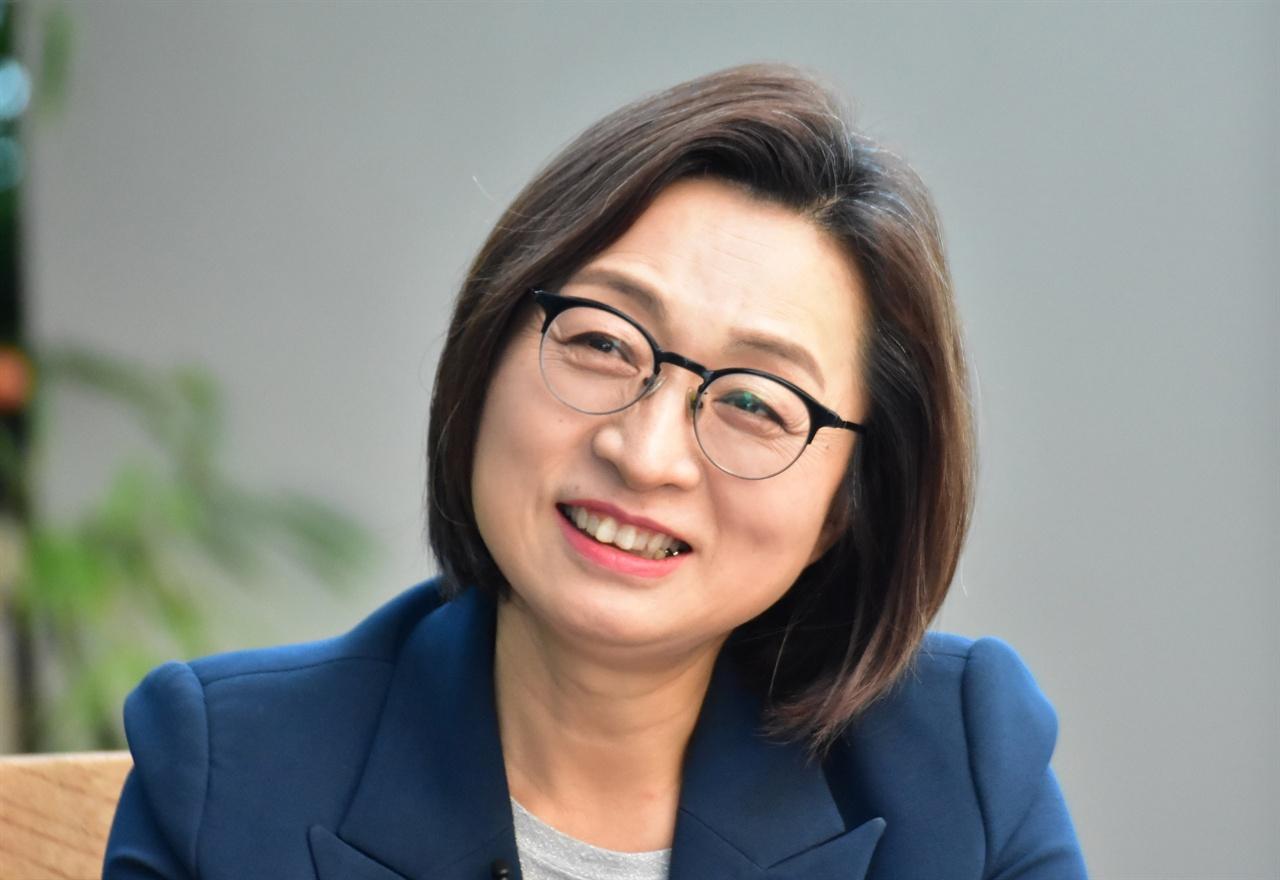 24일 인터뷰 중인 은수미 성남시장