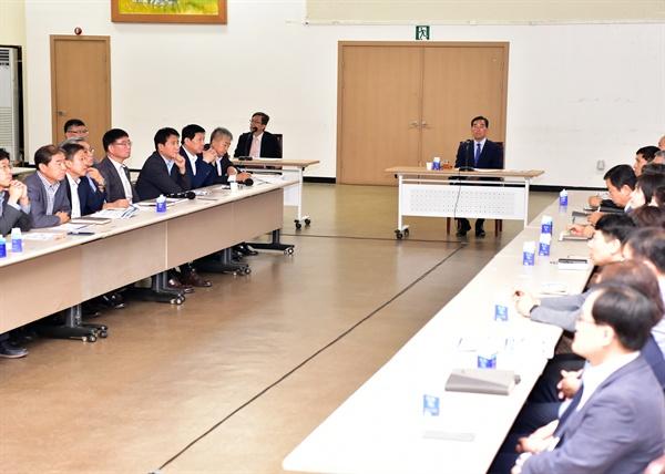 윤화섭 안산시장 1주년 성과 보고회