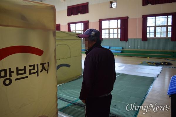 천진초 이재민 박(62)씨.