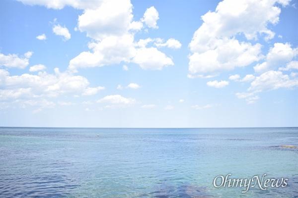 고성의 바다