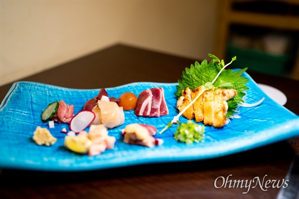 일본 규슈의 닭회.