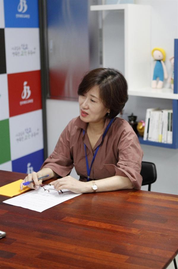 정옥희 전북 교육청 대변인