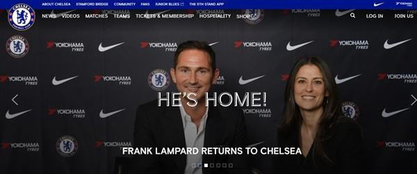 첼시는 공식 홈페이지를 통해 램파드 감독 선임 소식을 발표했다