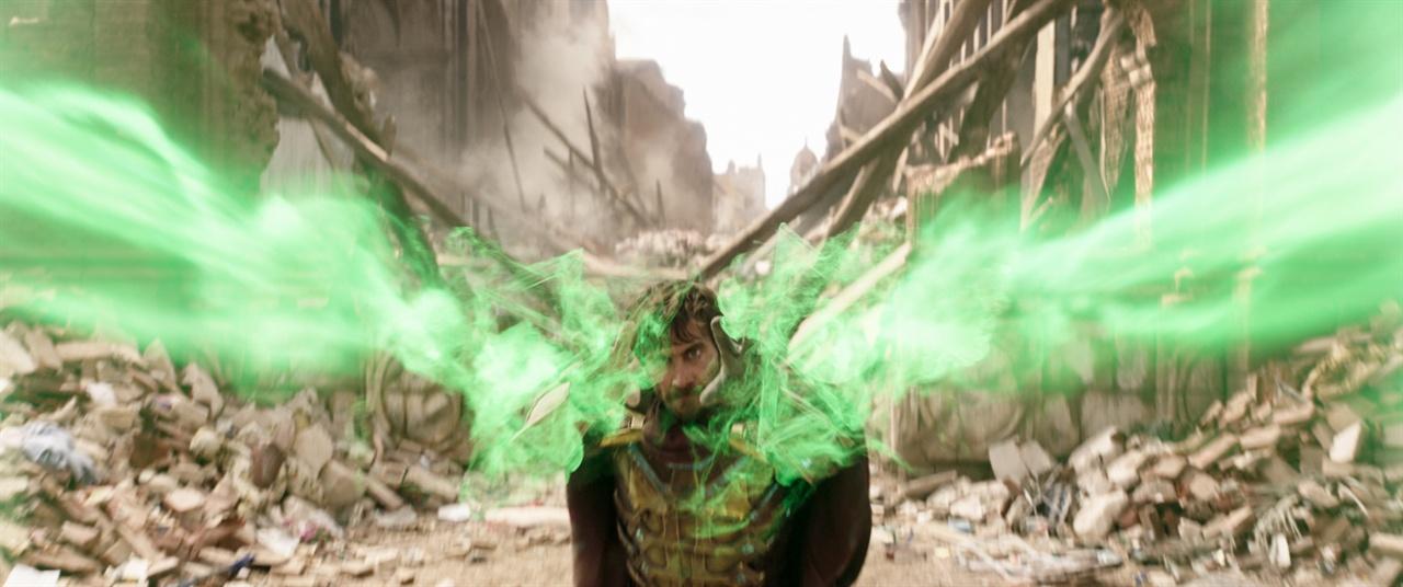 영화 <스파이더맨: 파 프롬 홈>의 한 장면