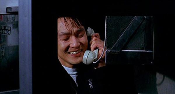 <초록물고기>의 공중전화 장면은 한석규 배우 커리어 최고의 명장면 중 하나로 꼽힌다.