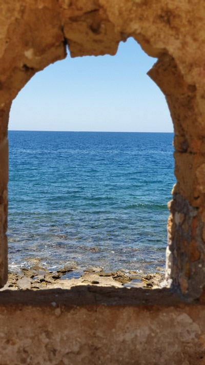 크레타 하니아 바다