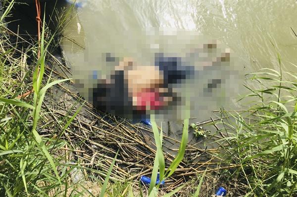 강을 건너려다 급류에 휩쓸린 엘살바도르 젊은 아빠와 두 살 배기 딸